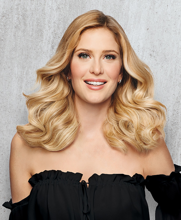 HD-12in-Hair-Extension-Model-Front