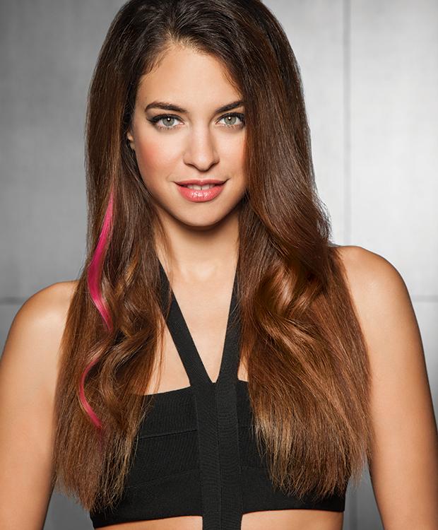 Human Hair Color Strip Hairuwear