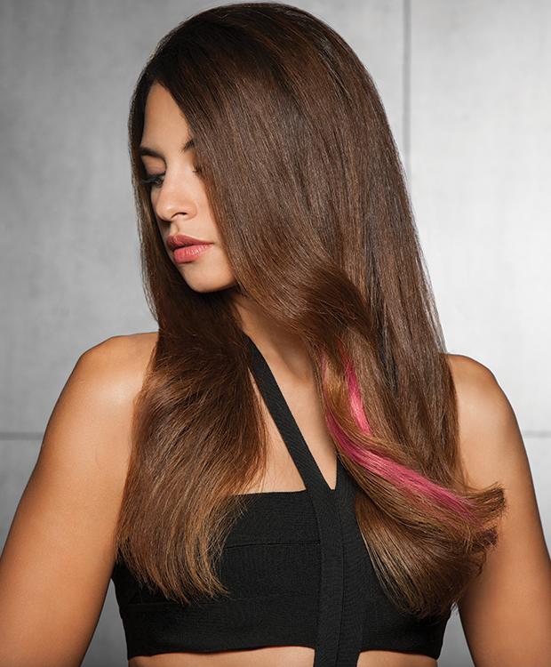 Human Hair Color Strip
