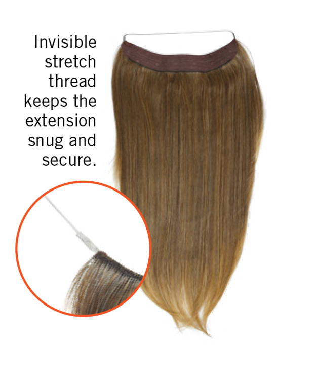 Invisible Extension Hairuwear